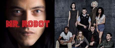 Day 03 - Your favorite new show  Mr. Robot & Sense8 (I just started both of them and am really enjo