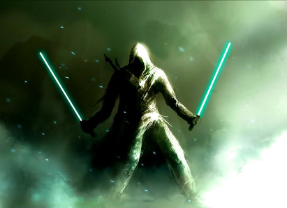 Sonus Skystar was strong with the force even as a young  Boy he was born on the planet of Corscuant