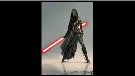 Dark Jedi: Jake Luka  He might not be the best with a saber but he is  Certainly good and with very