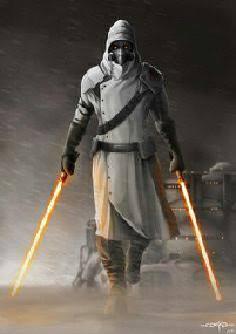 Name: Unknown  Morality: Knight Age: 21 Lightsaber skill: Jar'Kai Code Name: The White Knight Bi