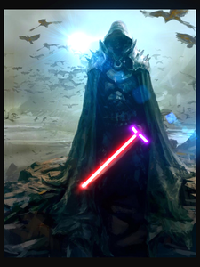 Darth trunction Darth trunction started off as a jedi knight and slowly started turning to the dark