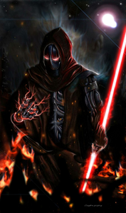 Darth Murdor is an exceptionally powerful Sith Lord. Born twenty-three years after the collapse of th