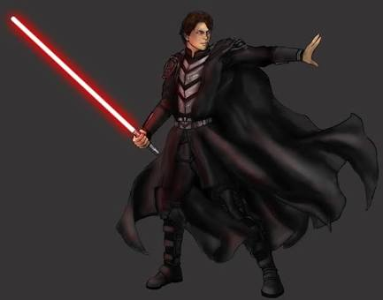 Name: Damien Halfblood Race: human Morality: Sith  Bio: he grew up never meeting his father. His m