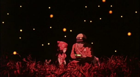 Grave of the Fireflies.... I've never cried so much in my life when Setsuko died and then when her br