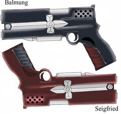 Twin pistol form