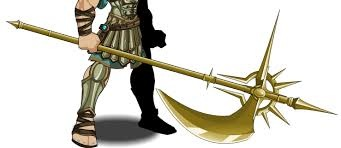 This is her weapon form