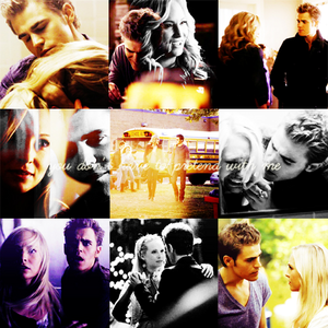 dia 28: A pairing that you will never understand. - Stefan and Caroline (Vampire Diaries) I don't l