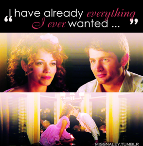 dia 30: Your favorito pairing forever and ever and ever! - naley (One árvore colina )