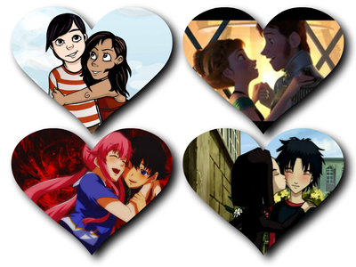 18: What's the cutest pairing: I got four. MortimerxBella (The Sims Series), HansxAnna (Frozen), Yuno