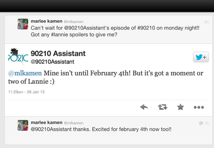 Confirmation of a Lannie scene in 5.12