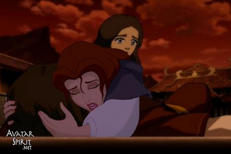 mine, an old one- Belle and Katara find Zuko badly hurt