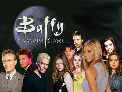 2. प्रिय horror themed TV show...Buffy the Vampire Slayer