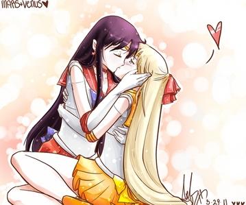 ^LOL Sailor Mars and Sailor Venus.