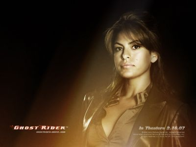 Roxanne Simpson from the Ghost Rider movie