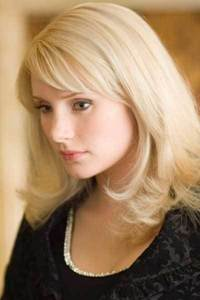 As person as above but she's playing Gwen Stacy from Spider-man