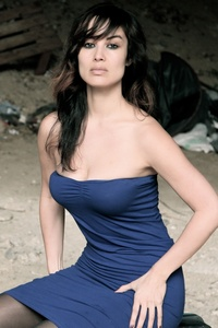 Berenice Marlohe. (She's the upcoming bond girl in the newest bond movie)