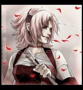 Okay I think Sakura is very pretty. Whether atau not someone dislikes her character. anda really can't s