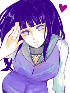 Hinata is very pretty in my opinion as well and for the same reason as above. I can't see how someone