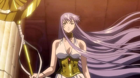 Sasha/Athena (Saint Seiya: The Nawawala Canvas)