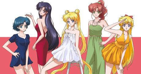 Inner Senshi of Sailor Moon