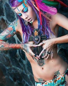 Lena Scissorhands