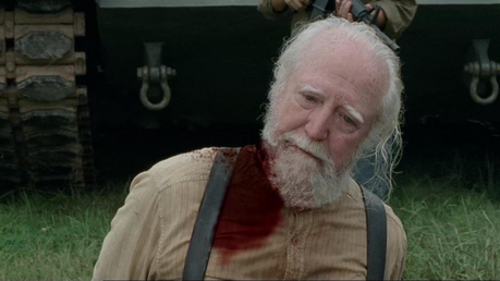 [u][i][b]Day Six.[/i][/u][/b] [b]Best survivor death so far?[/b] [i]Hershel Greene[/i] [b]Why?[/b]