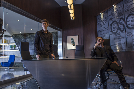 Techy stuffs of Oscorp I say research, you think?