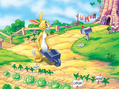 Rabbit from Winnie the Pooh :3 I say friendless, you think?