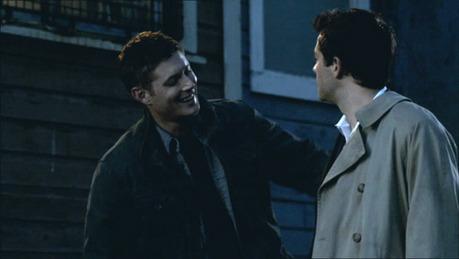 Dean with Cas