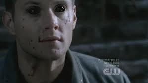 Dean with demon eyes........