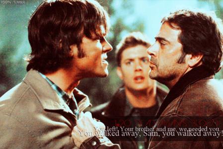 Sam and John arguing