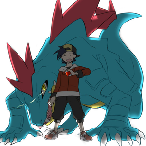 I know i'm late at joining this but it looks fun. দিন 1 পছন্দ Pokemon: Feraligatr Feraligatr i