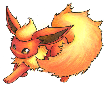 Day 4 Favorite Eeveelution: Flareon 