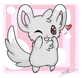 দিন 7 Most Adorable Pokemon: Minccino Not really much to say they are just the most Adorable in my
