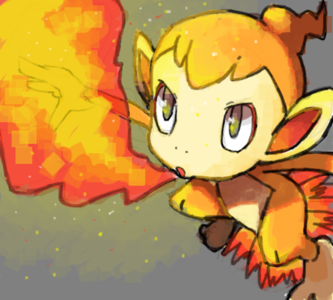 Day 03: Favorite Starter Pokemon :Chimchar