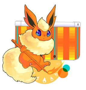 Day 04: Favorite Eeeveelution :Flareon