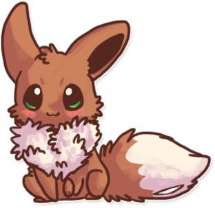 Day 23 A Pokemon that reminds you of a friend: Eevee