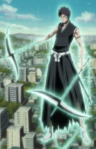 name of character: Shuhei Hisagi name of zanpakto: Kazeshini Release command: Reap kazeshini