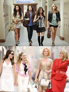 <b>Day 1: प्रिय lead female character:</b> Phoebe Buffay, Monica Geller & Rachel Green [Friends]<i