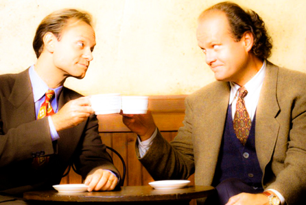 دن 10 - پسندیدہ siblings No doubt about it, one of my پسندیدہ duos are Frasier and Niles Crane.