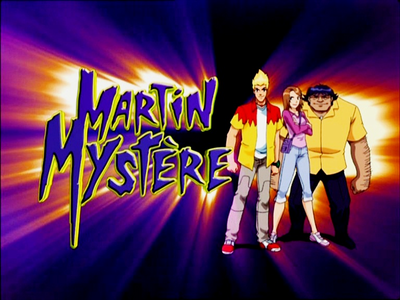 دن 18 - پسندیدہ animated دکھائیں (excluding sitcoms) one of fav [b] Martin-Mystery [/b]