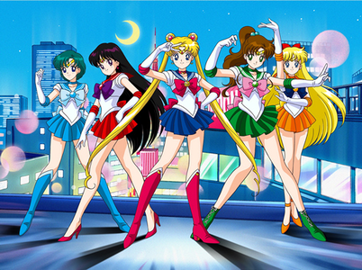 日 18 - お気に入り animated shows (excluding sitcoms) Sailor Moon