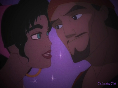 Esmeralda and Sinbad in the starlight
