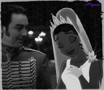 Here's mine. Tiana with Master Gracey from The Haunted Mansion.