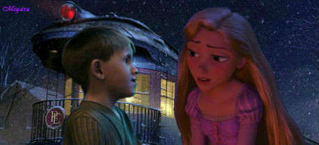 Here's mine: Rapunzel is Billy's older sister.