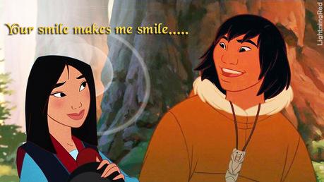 Mulan and Kenai