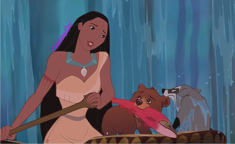 mine, I wasn't trying to copy sumerjoy in any way. just happen that we both used Pocahontas and Broth