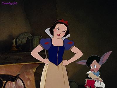 Snow White as Pinocchio's mother