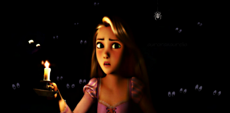 Mine is fear of the dark too. Sometimes I think I see things hear things ect. So it Rapunzel the owl