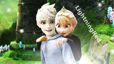 Jack and Elsa!!!